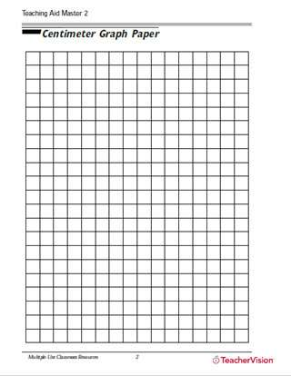 Centimeter Graph Paper