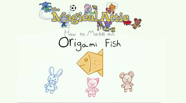 Create-Along Video: How to Make an Origami Fish
