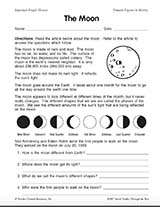 Reading Comprehension: The Moon