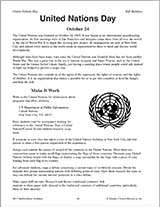 United Nations Day History and Activities
