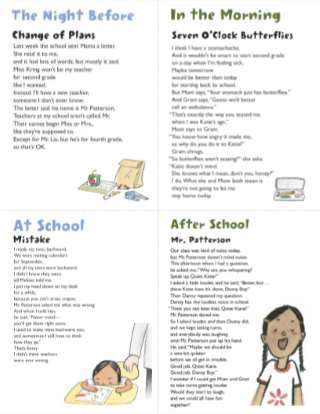 A New School Year Poem in Your Pocket Activity by Sally Derby