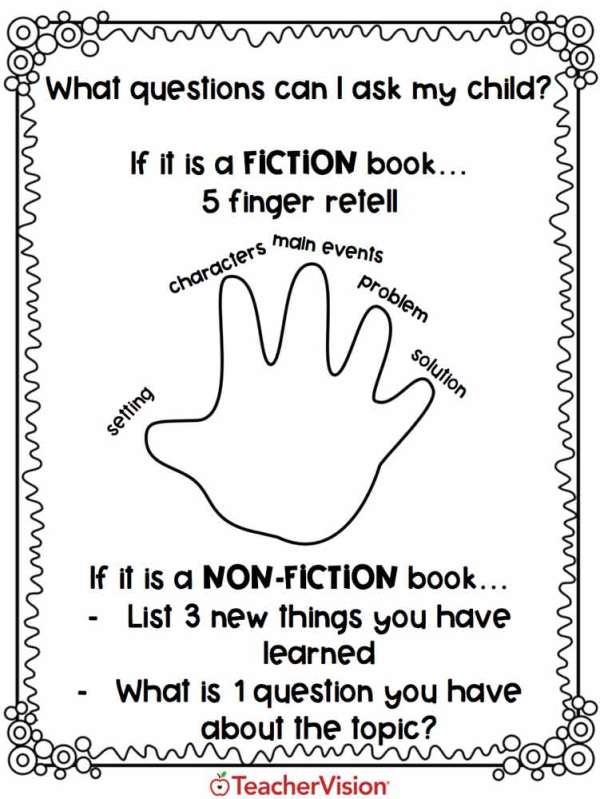 An activity for supporting students to read at home
