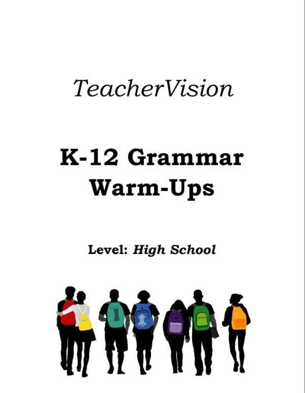 Exercises to support students to practice grammar skills