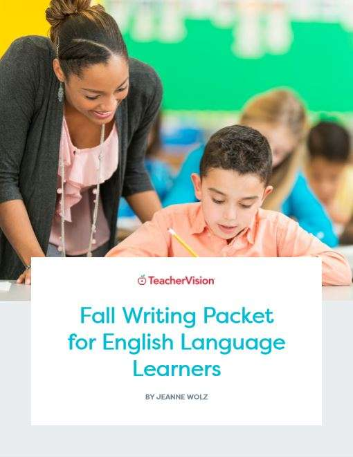 A themed packet resource for teaching writing for ELLs