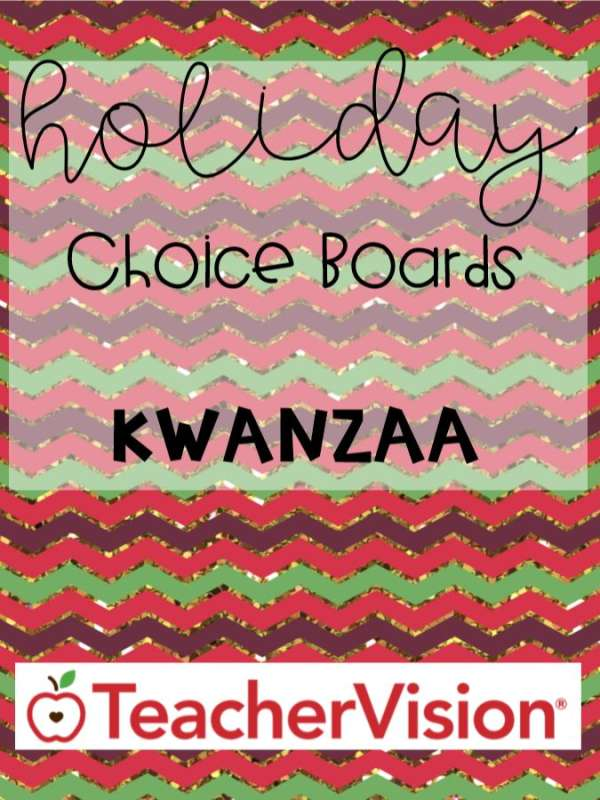 Kwanzaa ELA, science, kindness activities for elementary classrooms