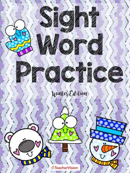 Sight word activities for grades pre-K to 2