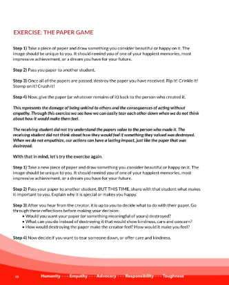 Exercise: The Paper Game