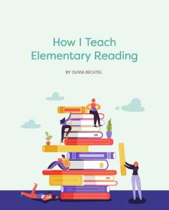 How I Teach Elementary Reading E-Book