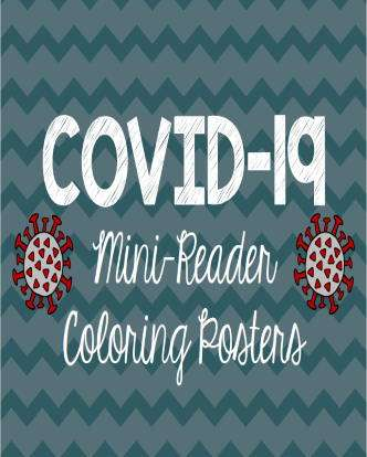 COVID-19 Safety Mini-Book and Coloring Posters Packet