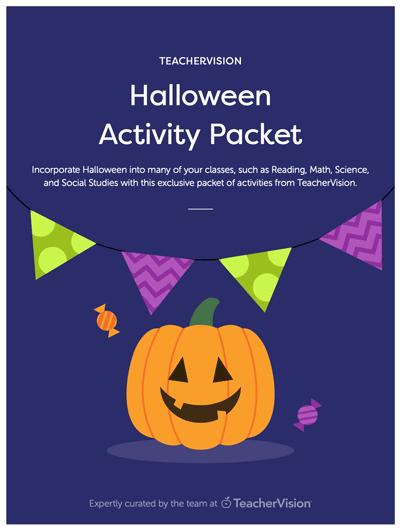 halloween activities packet for teachers