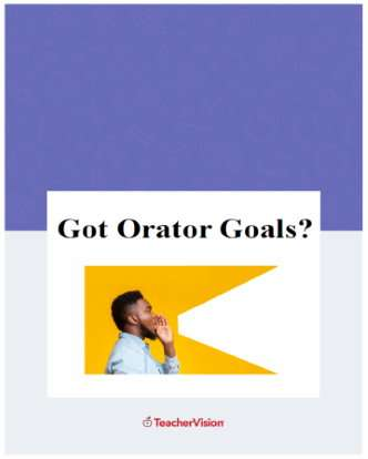 Orator Goals for Speechwriting and Presentation Strategies