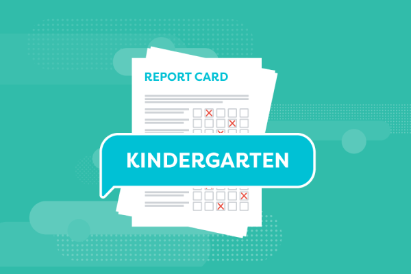 report card remarks for kindergarteners