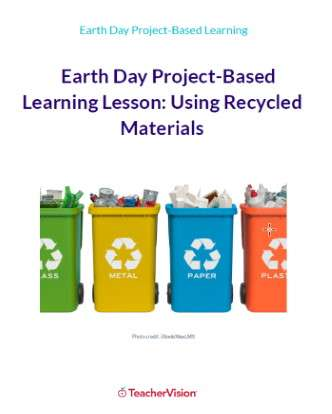 Earth Day Recycling Project-Based Lesson