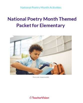 National Poetry Month Themed Packet (Elementary)