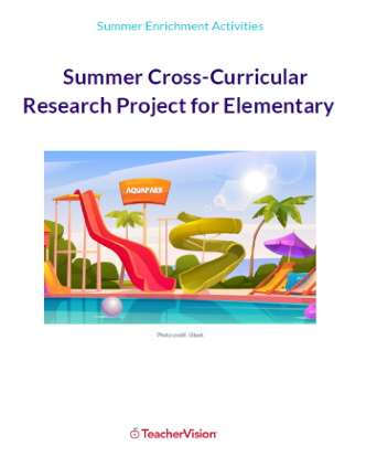 Summer Learning Cross-Curricular Research and Design Project for Elementary Grades