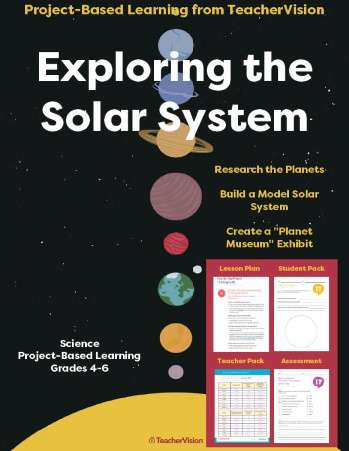 Exploring the Solar System: Project-Based Learning Unit from TeacherVision
