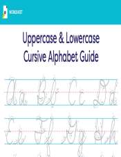 Cursive writing lowercase and uppercase alphabet teachervision cursive writing lowercase and uppercase alphabet expocarfo