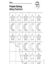 stars and moon patterns