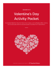 Valentine S Day Activities Packet Teachervision