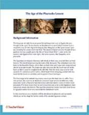 The Age of the Pharaohs Background Information
