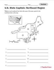 Quiz: Northeast U.S. State Capitals - TeacherVision