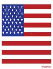 photo relating to American Flag Printable named American Flag Printable (inside of shade) - TeacherVision