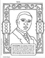 Garrett Morgan Coloring Page