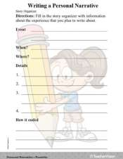 Writing a Personal Narrative (Gr. 3)