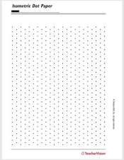 printable dotted paper