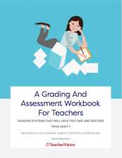 a grading and assessment workbook