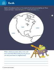 TinkerActive Science Activity Lesson: Earth and the Solar System (Grade 1)